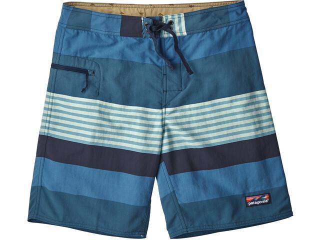 Patagonia Wavefarer Boardshorts Herr fitz stripe/port blue